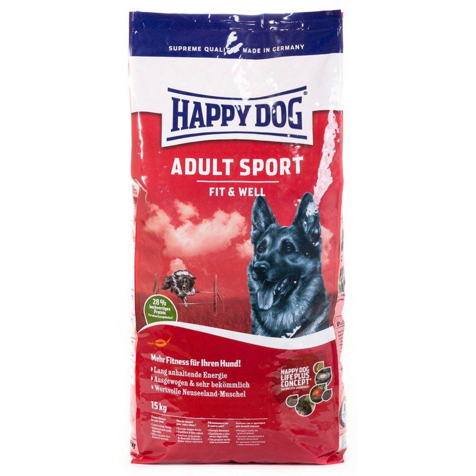 Hundetrockenfutter »Supreme Fit & Well Sport«, 15 kg in braun