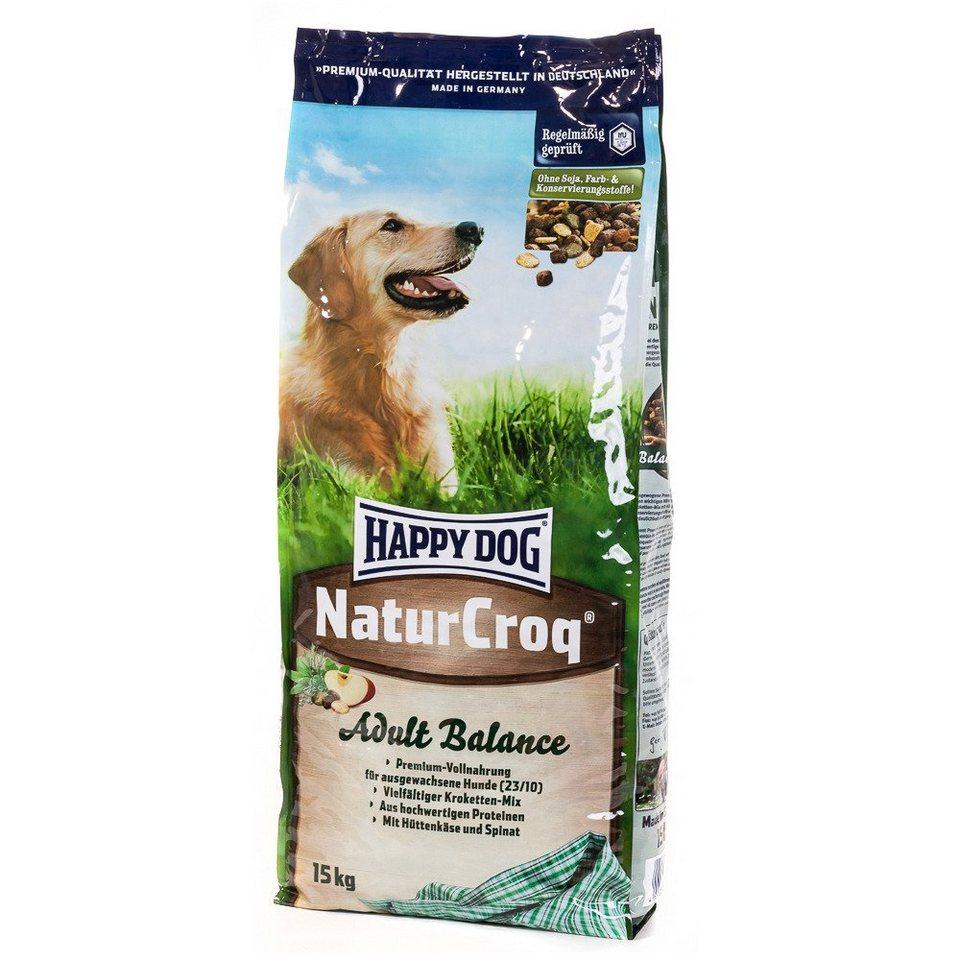 Hundetrockenfutter »NaturCroq Adult Balance«, 15 kg in braun