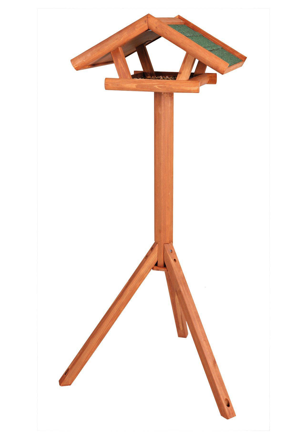 TRIXIE Vogelhaus »Giebel groß«, mit Standbein, B/T/H: 54/52/135 cm