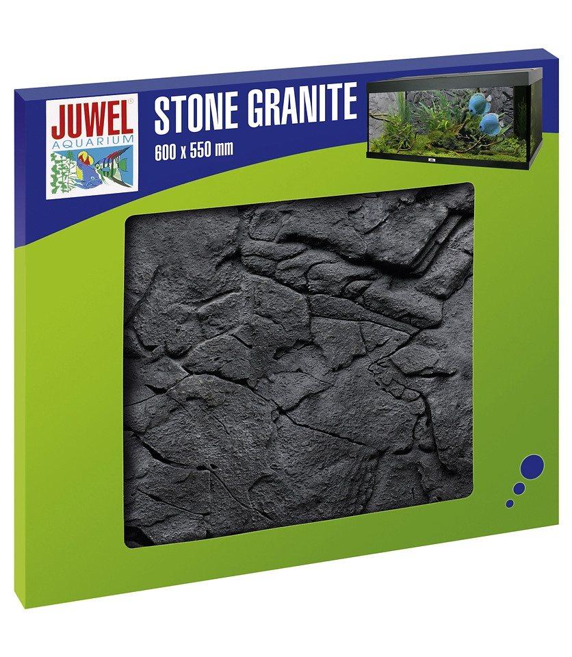 Aquariendeko »Rückwand Stone Granit«, granitfarben in grau