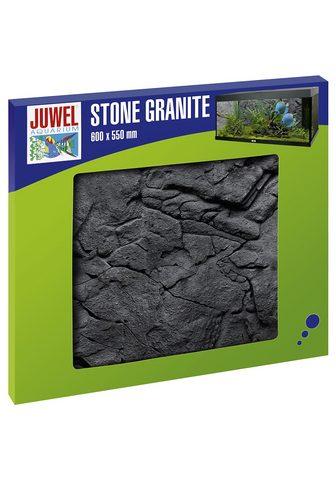 JUWEL AQUARIEN Akvariumo sienelė »Stone Granit« BxH: ...