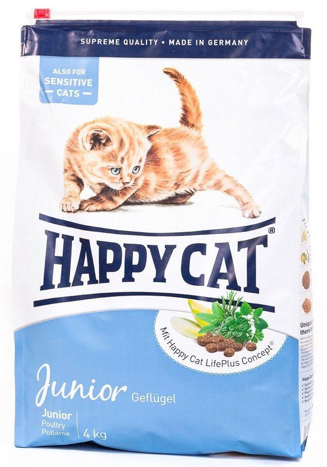 Katzentrockenfutter »Junior«, 4 kg in braun