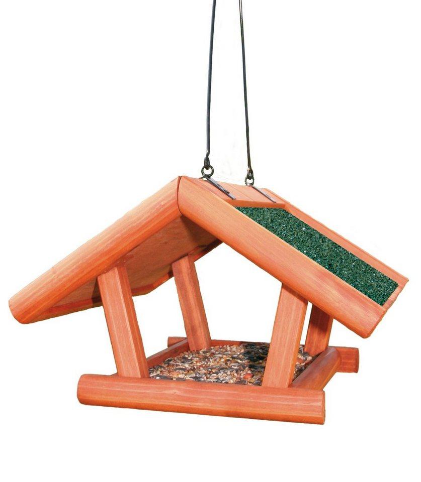 Vogelhaus »Giebel« zum Hängen in braun