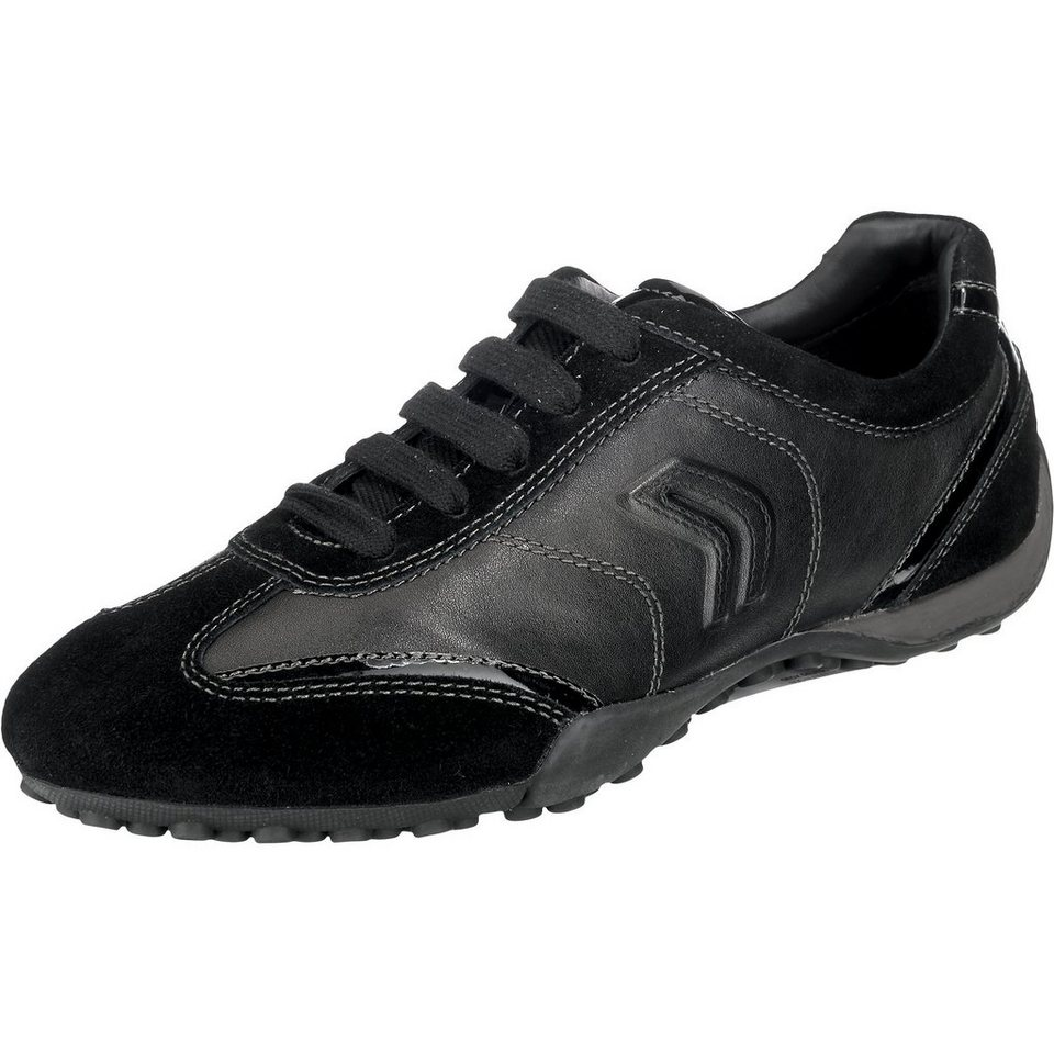 GEOX Snake Sneakers in schwarz