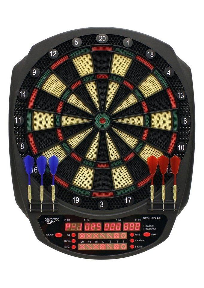 elektronische dartscheibe e dartboard striker 601 carromco online kaufen otto. Black Bedroom Furniture Sets. Home Design Ideas