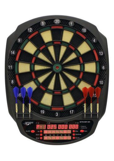 Carromco Dartscheibe »Elektronische Dartscheibe, E-Dartboard Striker-601«