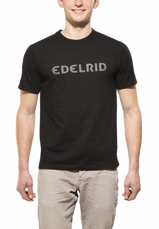 Edelrid T-Shirt »Rope T Men« in schwarz