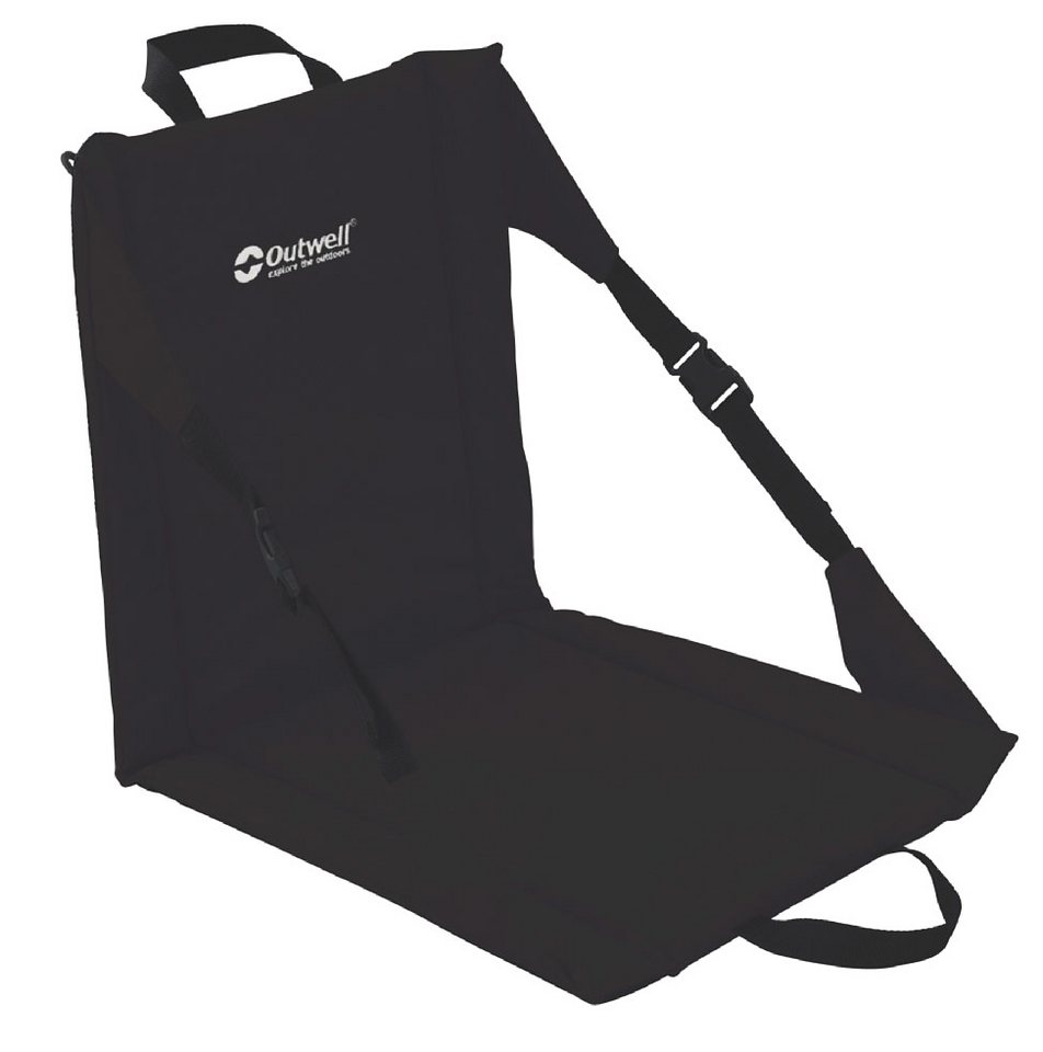Outwell Camping-Stuhl »Folding Beach Chair« in schwarz