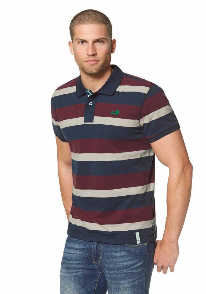 Ocean Sportswear Poloshirt in bordeaux-marine