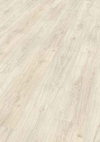 EGGER Laminat »Asgil Eiche weiss«, 8mm, 2,542m², authentische Holzoptik, universell einsetzbar