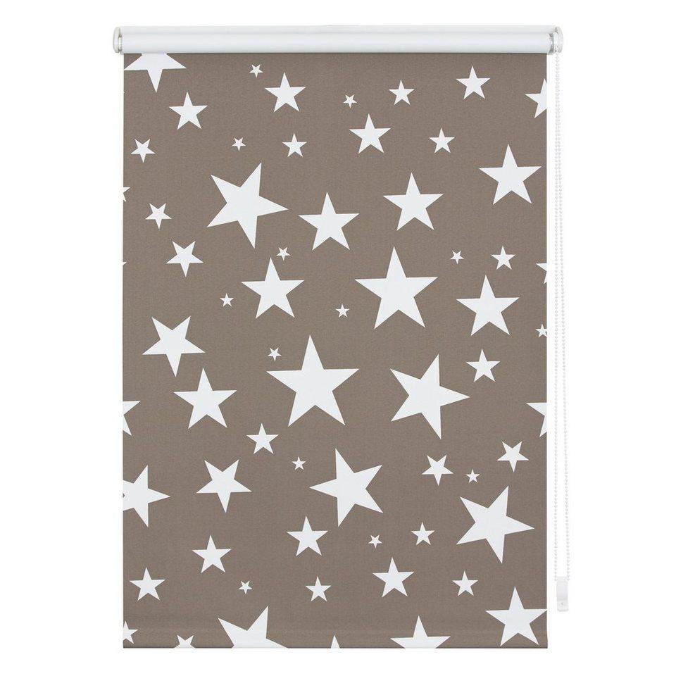 Seitenzugrollo »Klemmfix Dekor Sterne«, LICHTBLICK, verdunkelnd, ohne  Bohren online kaufen | OTTO