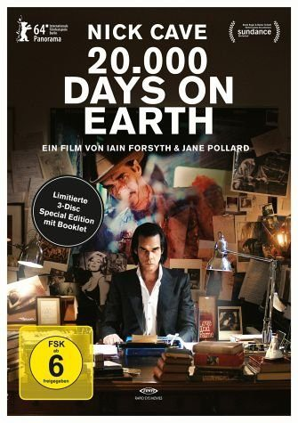 Blu-ray »Nick Cave - 20.000 Days on Earth (OmU, Limited...«