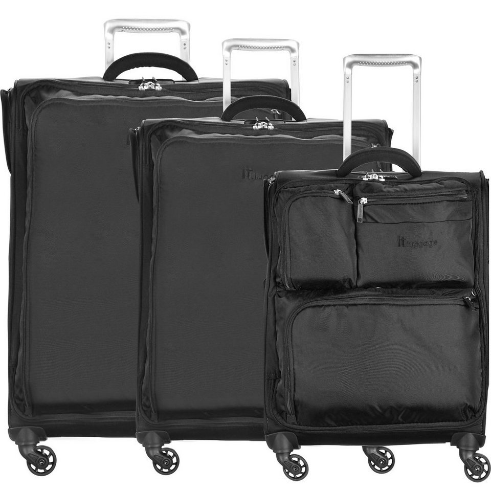 it luggage carry two 4 rollen trolley set 3 tlg otto. Black Bedroom Furniture Sets. Home Design Ideas