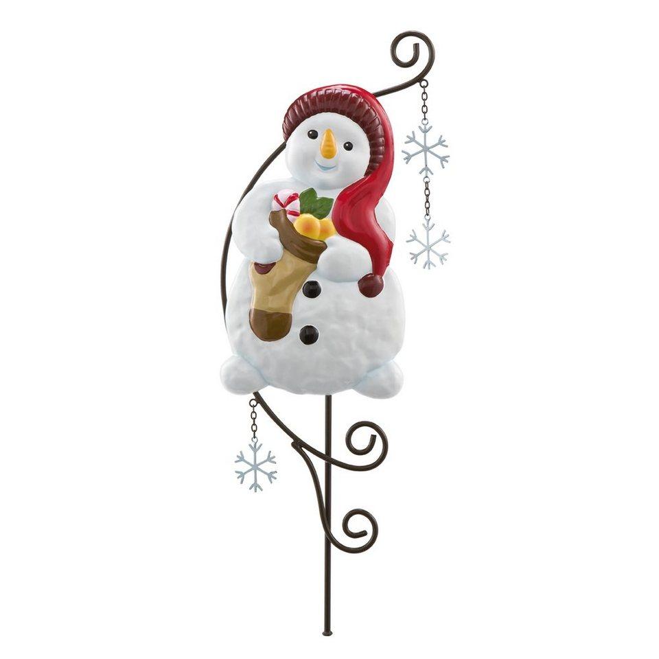Goebel Gartenstecker - Mein Strumpf ist voll »Weihnachten« in Bunt