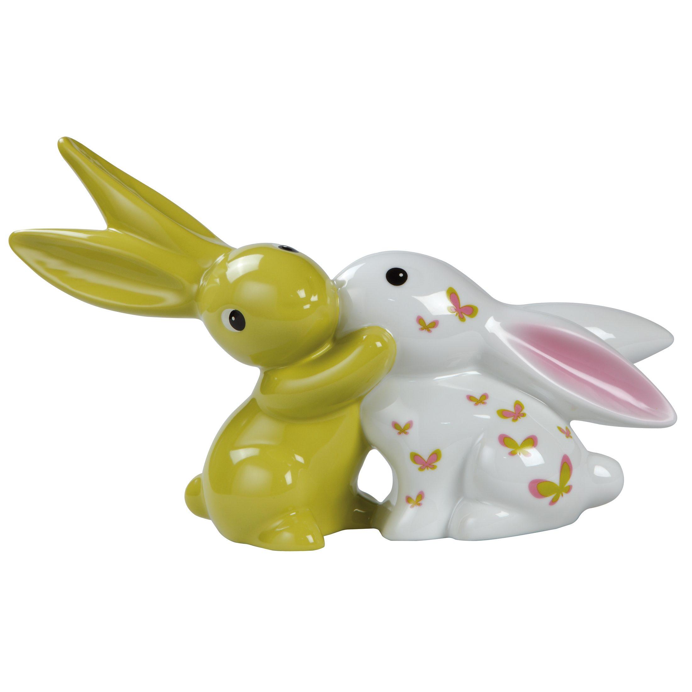 Goebel Pink Apple Bunny in Love »Bunny de luxe«