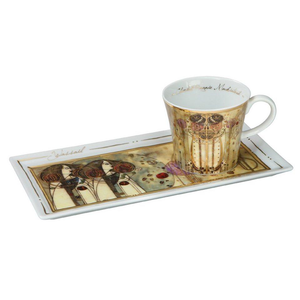Goebel Die Zusammenkunft - Kaffee Set »Artis Orbis« in Bunt