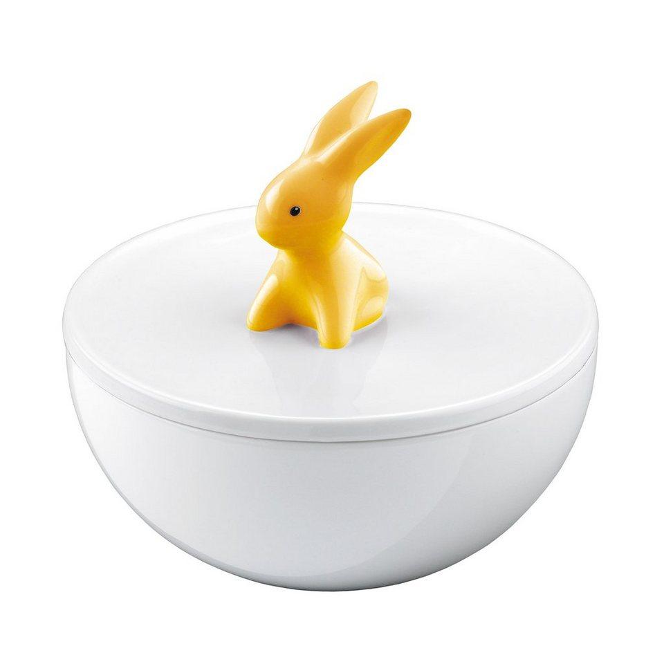 Goebel Orange Sunrise Bunny - Porzellandose »Bunny de luxe« in Bunt