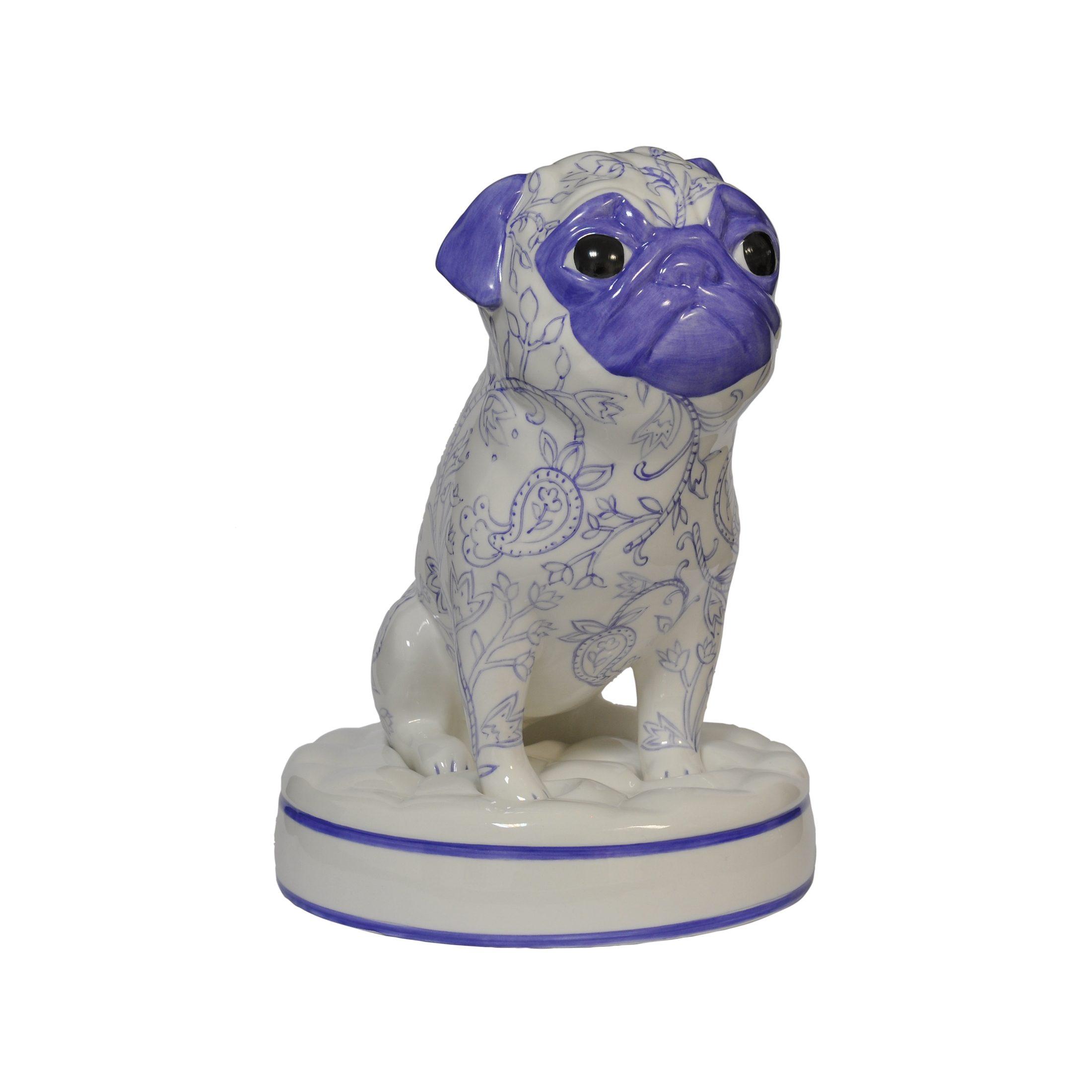Goebel Mops - Indigo »Special Dogs«