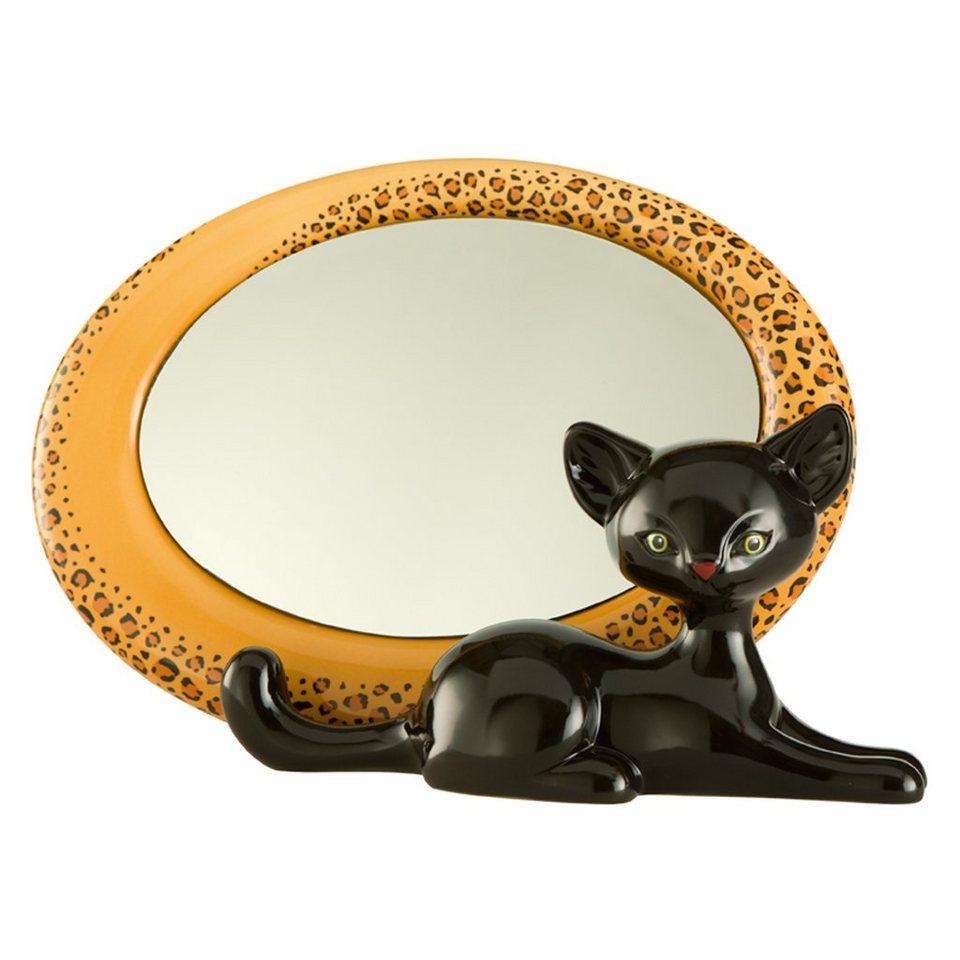 Goebel Leopard Kitty - Spiegel »Kitty de luxe« in Bunt