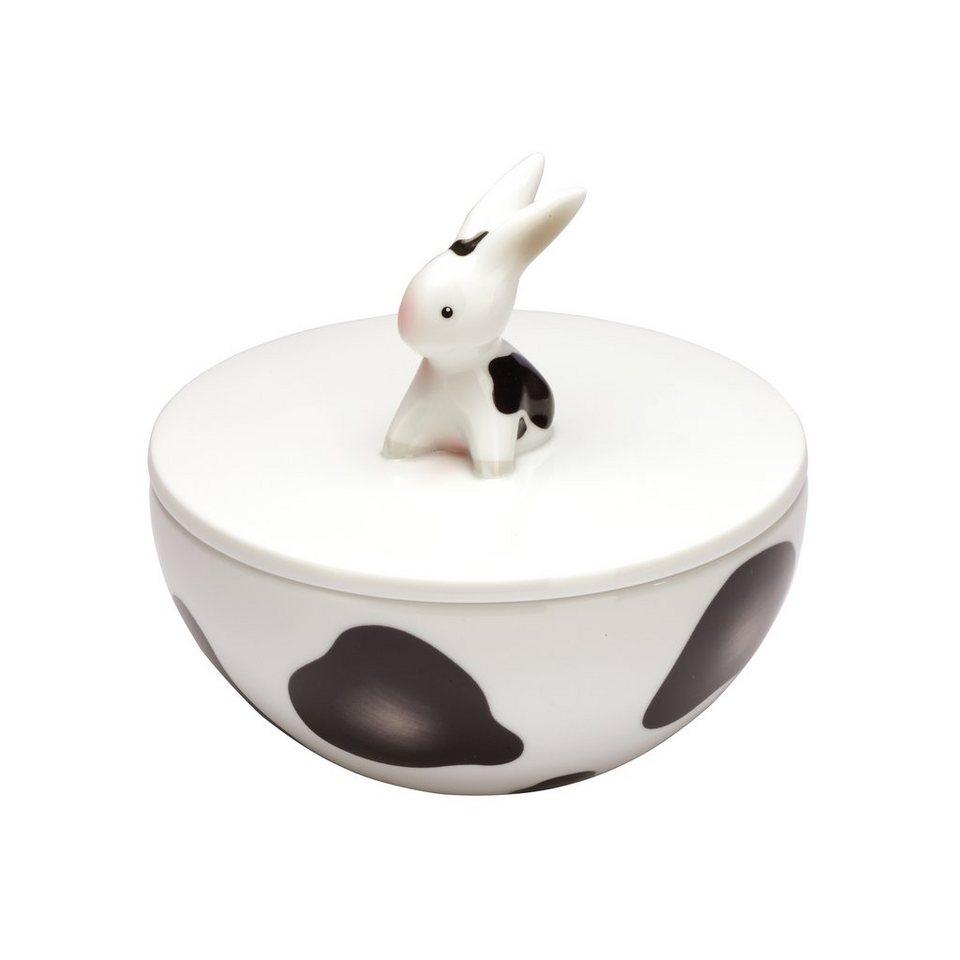 Goebel Cow Bunny - Porzellandose »Bunny de luxe« in Bunt