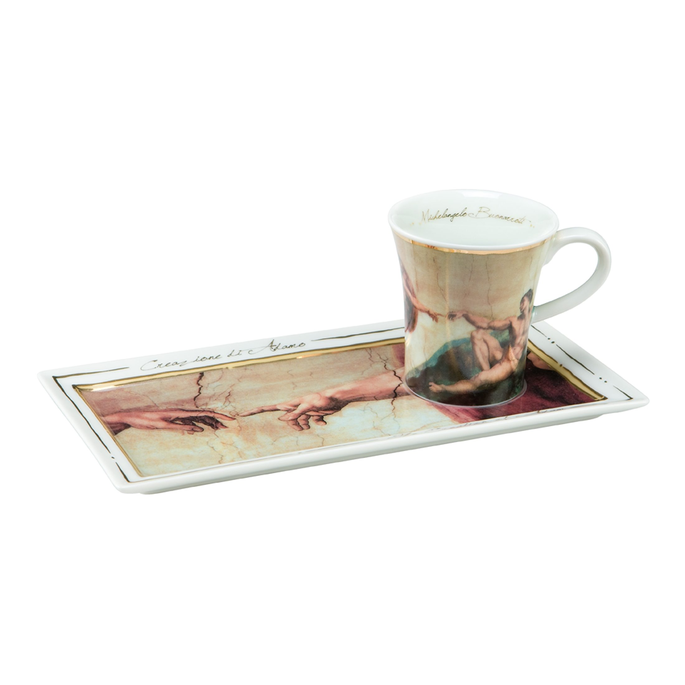 Goebel Die Erschaffung Adams - Espresso Set »Artis Orbis«
