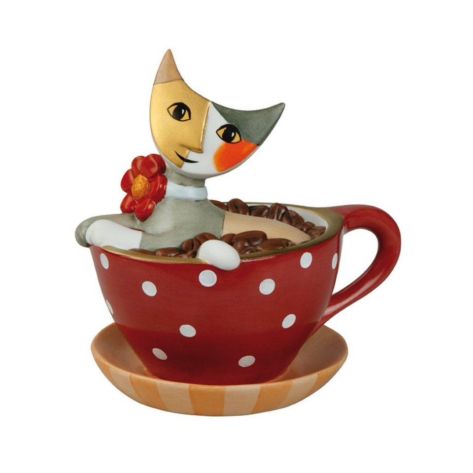 Goebel Pausa caffeè - Spardose »Rosina Wachtmeister« in Bunt