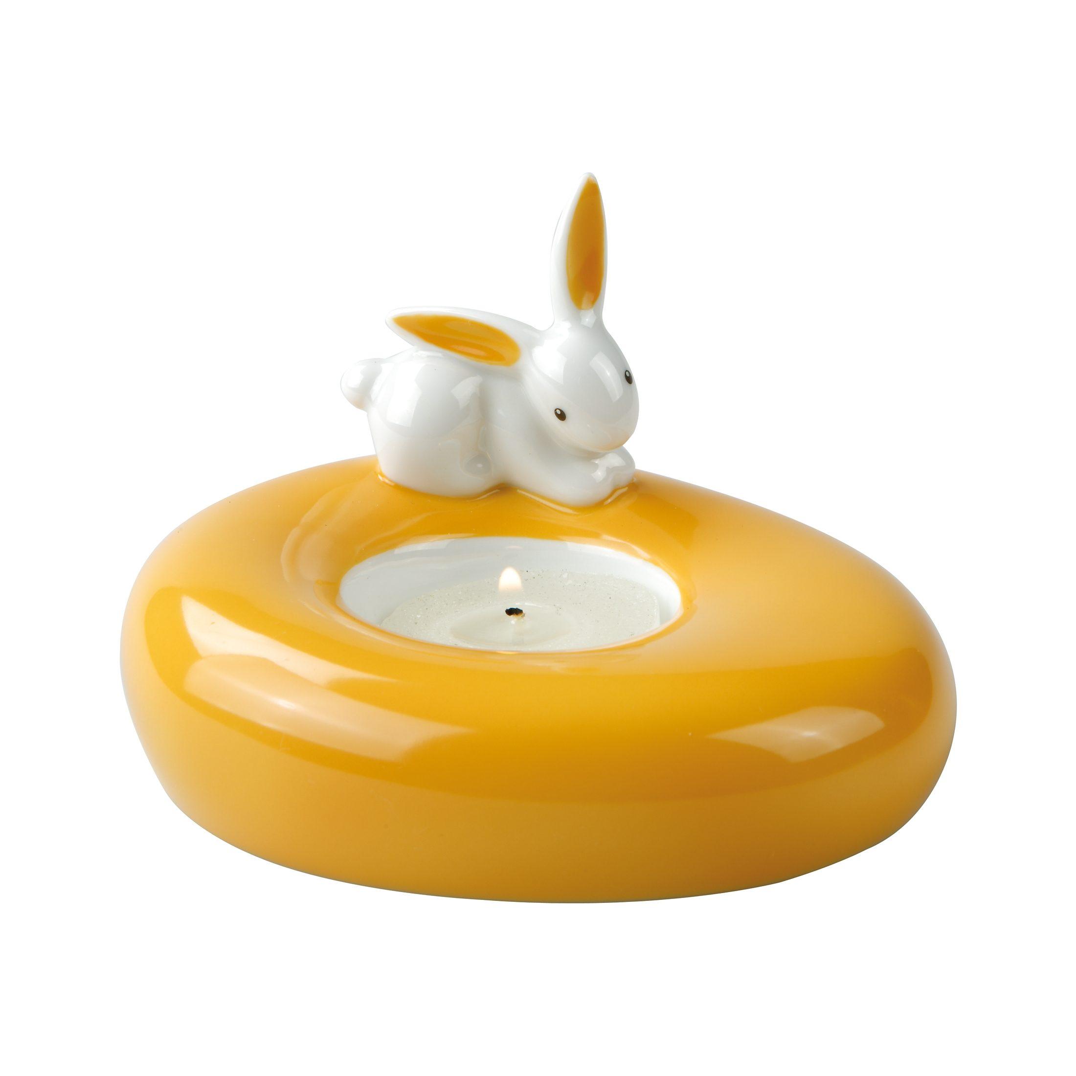 Goebel Orange Sunrise Bunny - Teelichthalter »Bunny de luxe«