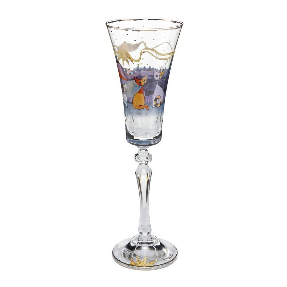 Goebel Notte italiana Sektglas »Rosina Wachtmeister« in Bunt
