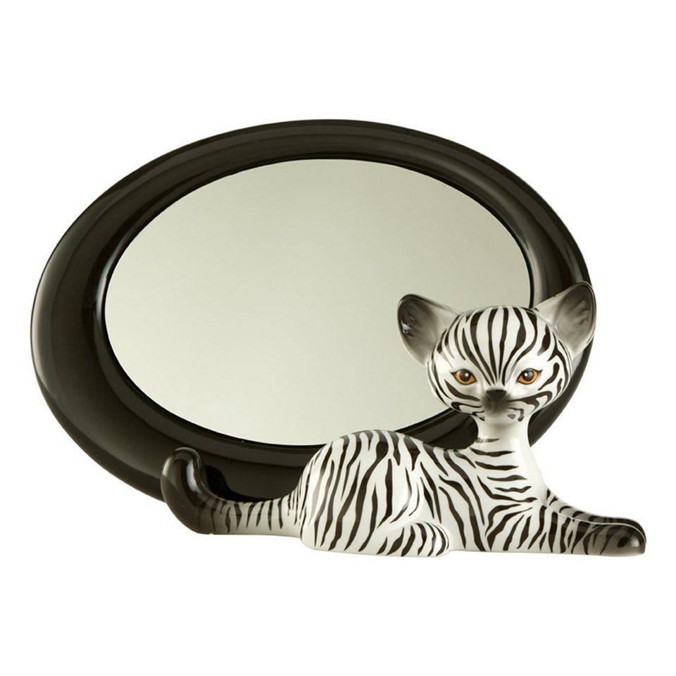 Goebel Zebra Kitty - Spiegel »Kitty de luxe« in Bunt