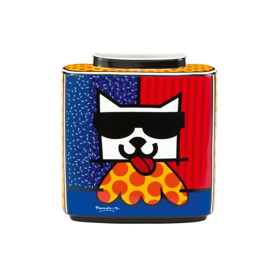Goebel LA Cat - Vase »Artis Orbis« in Bunt