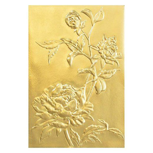 """Sizzix 3D-Prägeschablone """"Roses by Tim Holtz"""", 16,5 x 11,4 cm"""