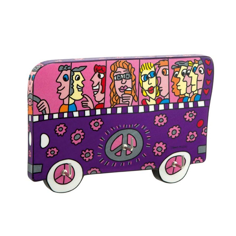 Goebel A Bus Ride - Schlüsselbrett »Artis Orbis« in Bunt