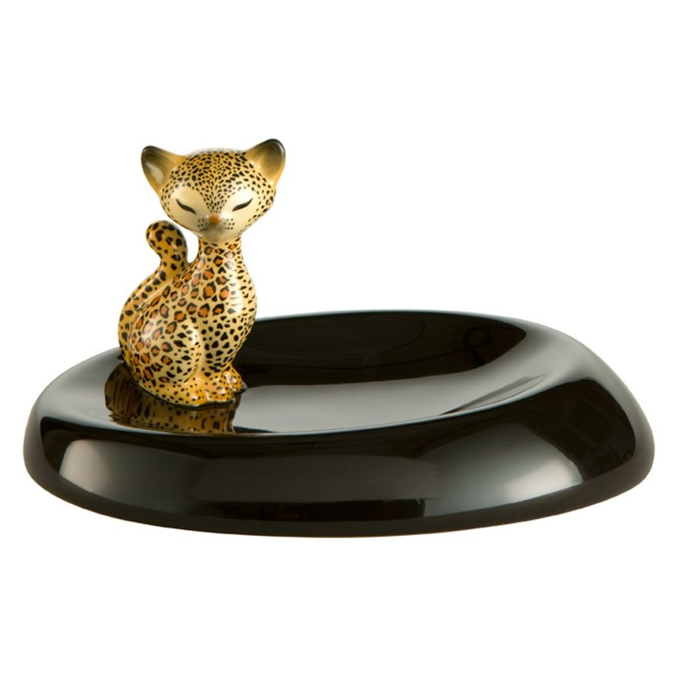 Goebel Leopard Kitty - Schale »Kitty de luxe« in Bunt
