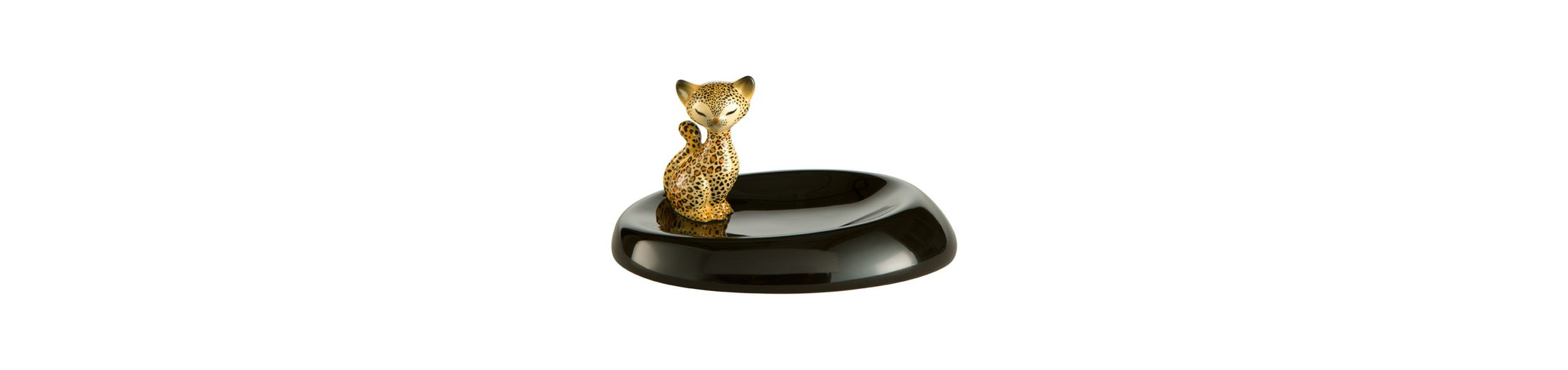 Goebel Leopard Kitty - Schale »Kitty de luxe«