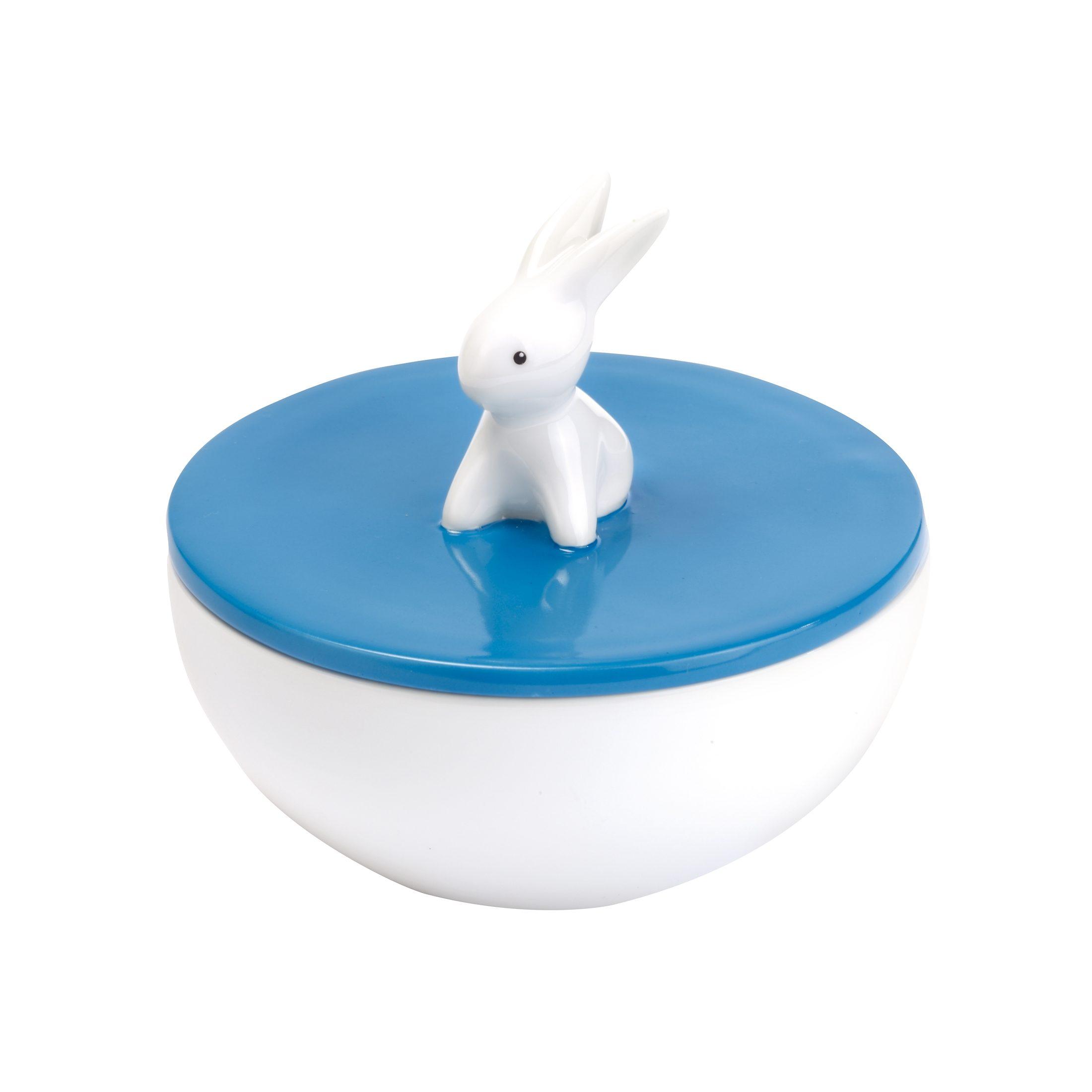 Goebel Ocean Blue Bunny - Dose »Bunny de luxe«