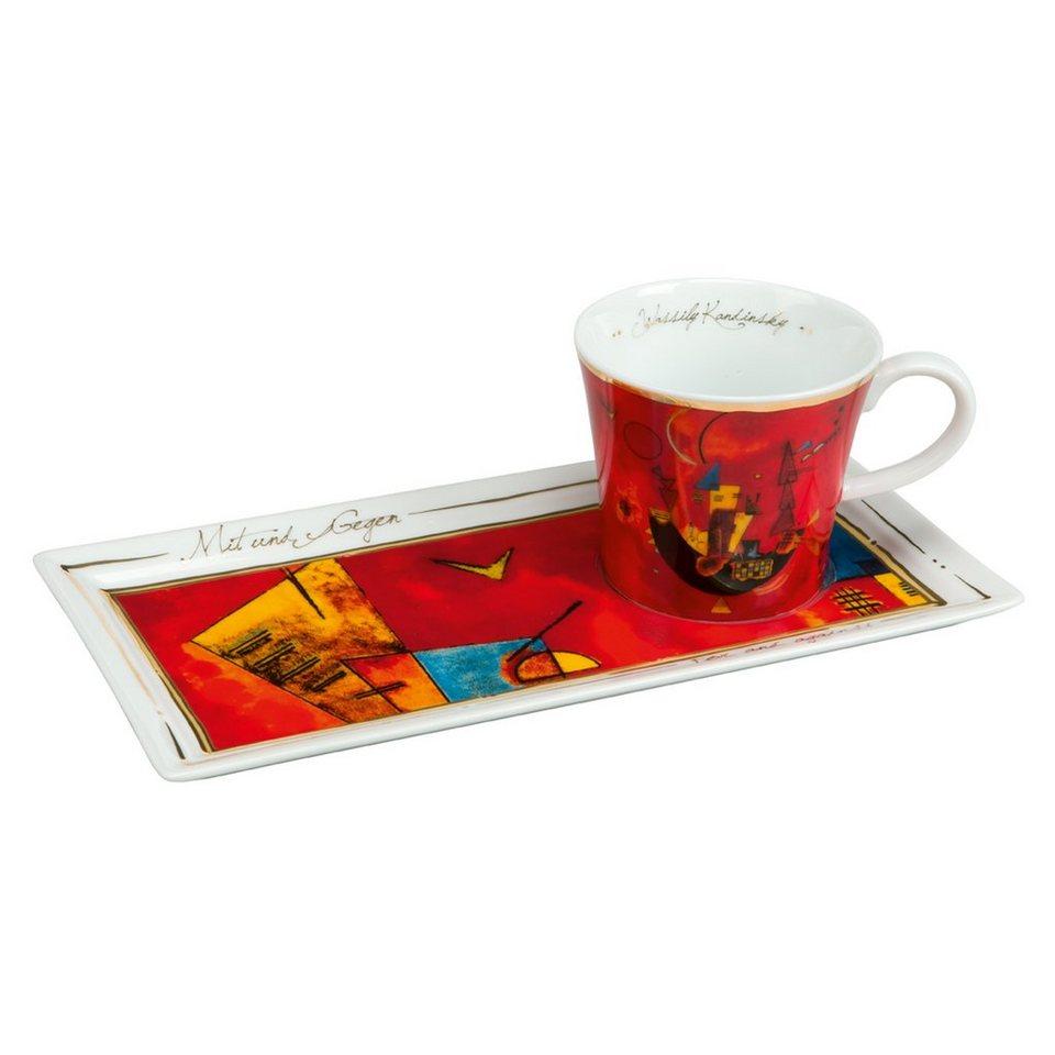 Goebel Mit und Gegen - Kaffee Set »Artis Orbis« in Bunt
