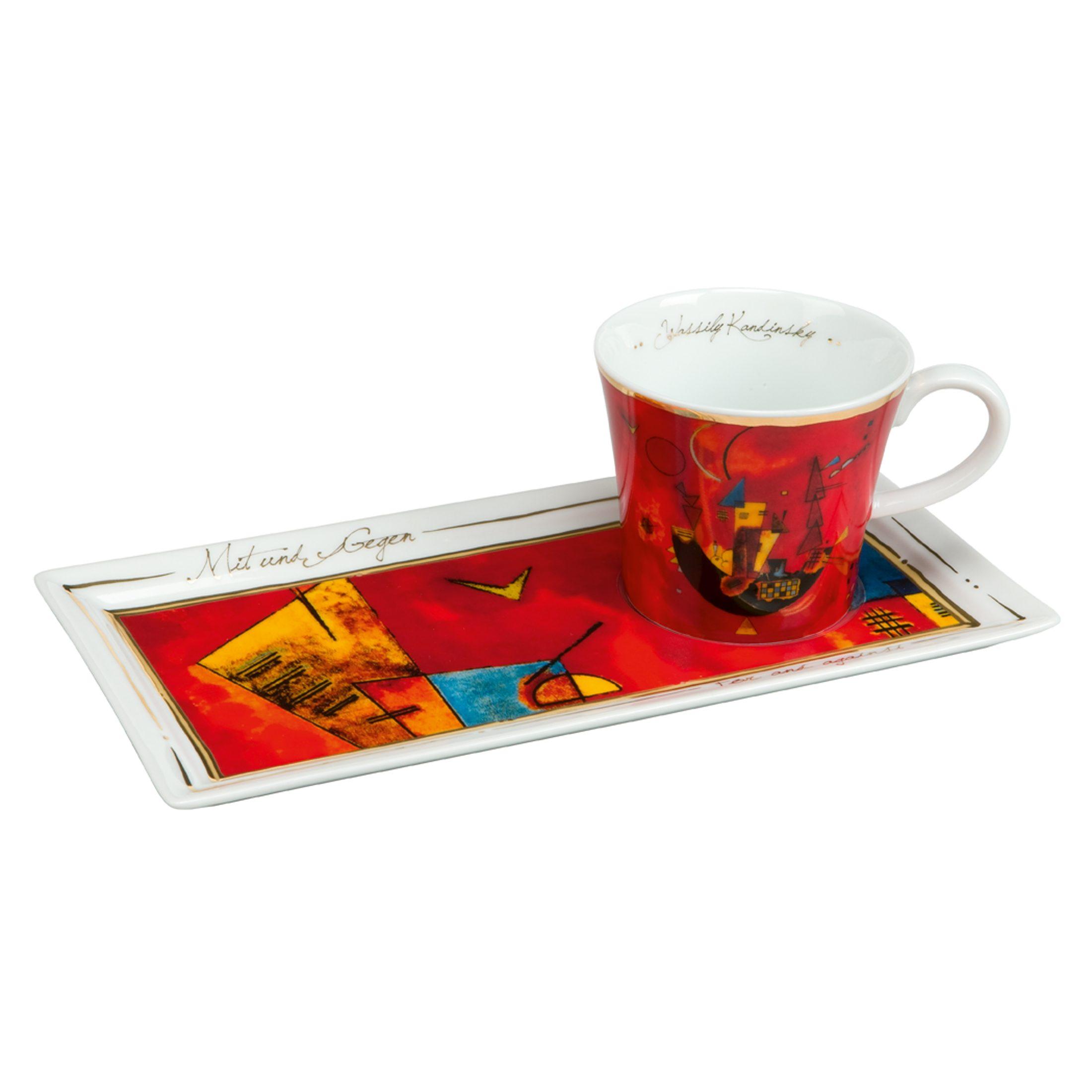 Goebel Mit und Gegen - Kaffee Set »Artis Orbis«
