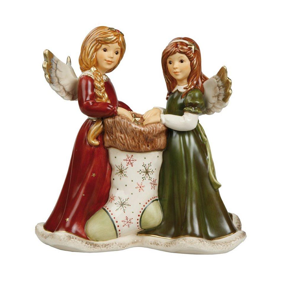 Goebel Goldene Sternenpracht »Weihnachten« in Rot-Grün