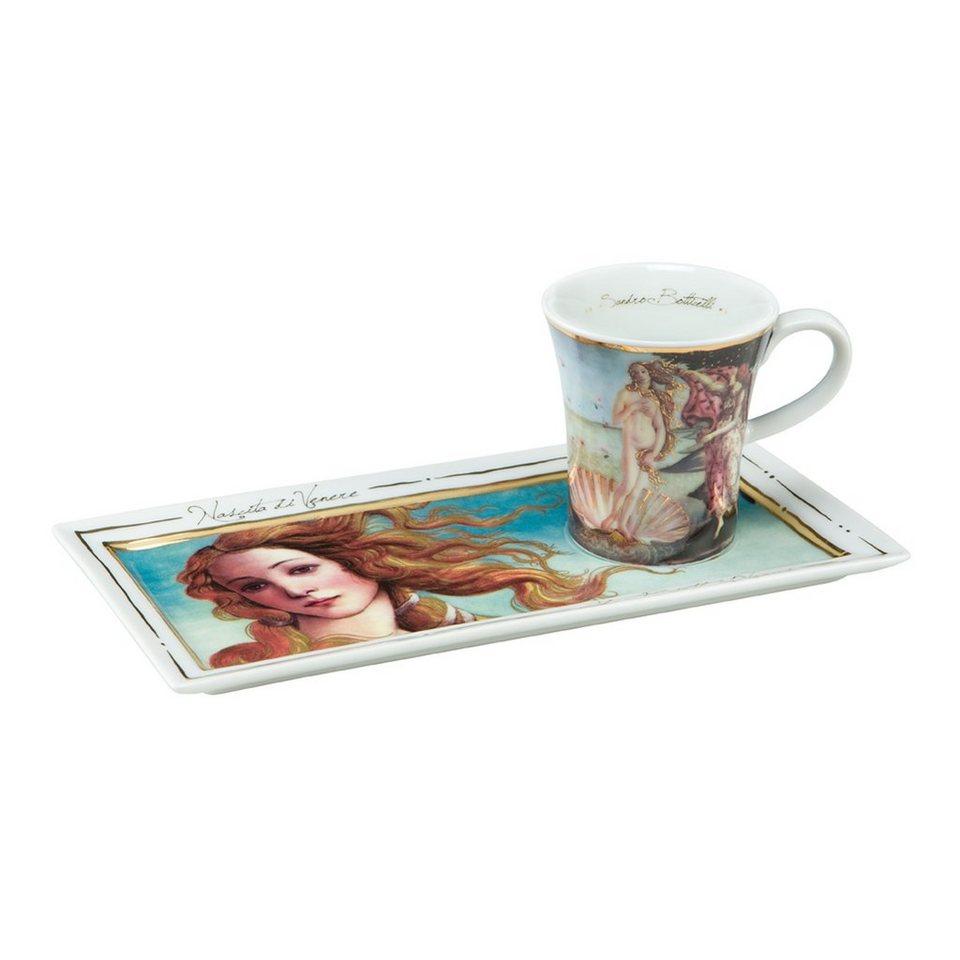 Goebel Die Geburt der Venus - Espresso Set »Artis Orbis« in Bunt