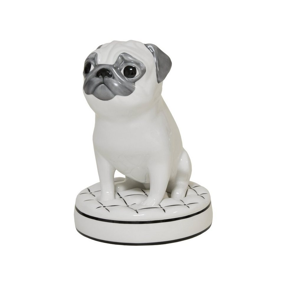 Goebel Mops - Pure »Special Dogs« in Bunt