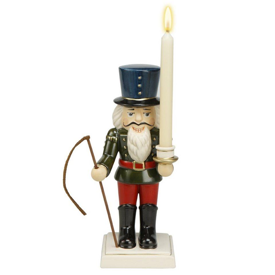 Goebel Traditioneller Leuchter - Kutscher »Weihnachten« in Bunt
