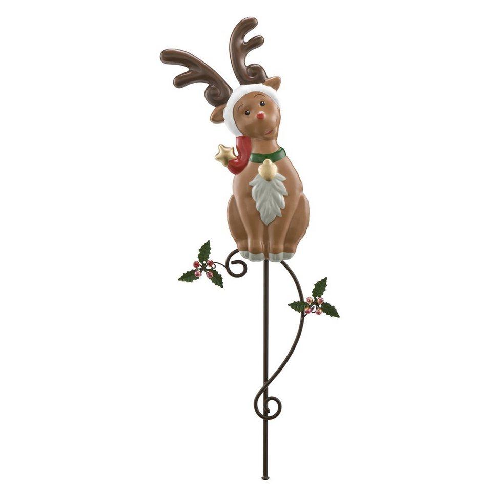 Goebel Gartenstecker - Fröhliche Weihnachten »Weihnachten« in Bunt