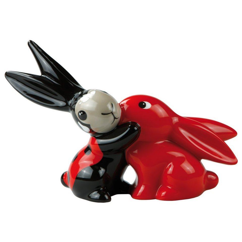 Goebel Ladybug Bunny in Love »Bunny de luxe« in Bunt