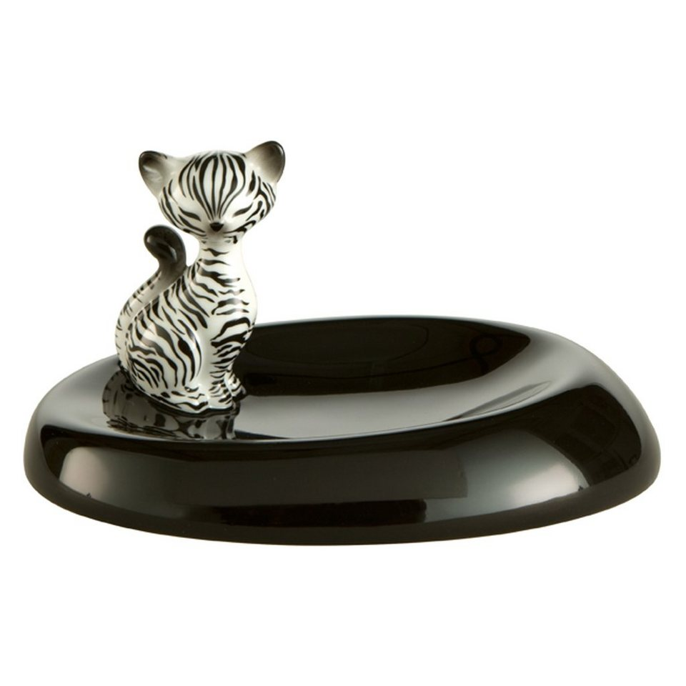 Goebel Zebra Kitty - Schale »Kitty de luxe« in Bunt