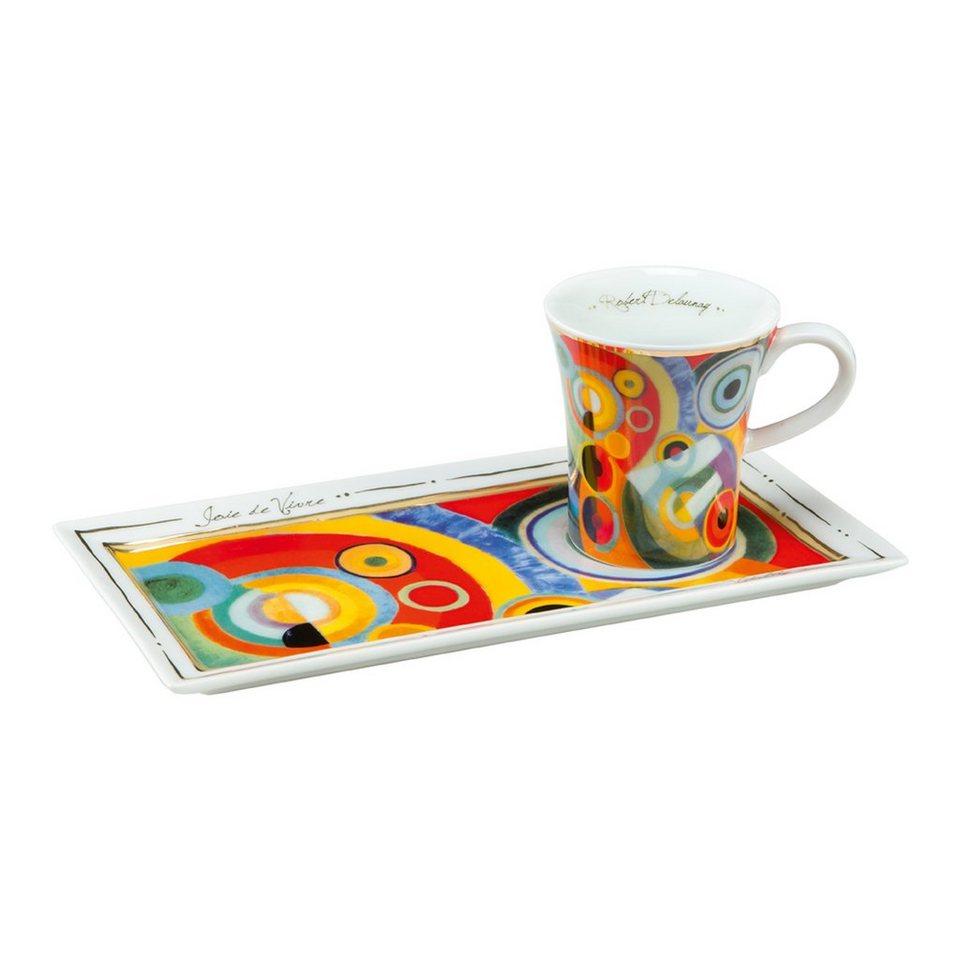 Goebel Lebensfreude - Espresso Set »Artis Orbis« in Bunt