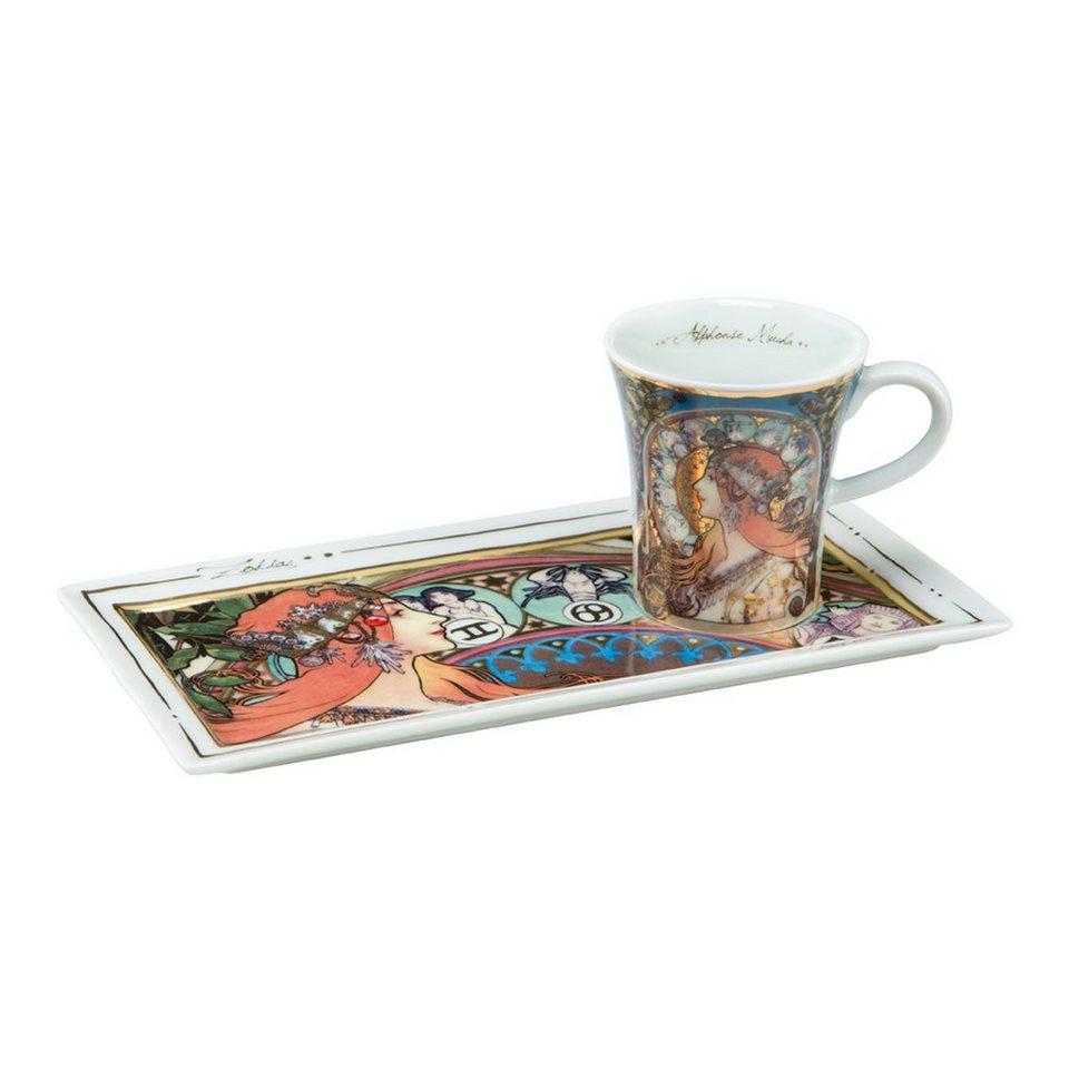 Goebel Die Sternzeichen - Espresso Set »Artis Orbis« in Bunt