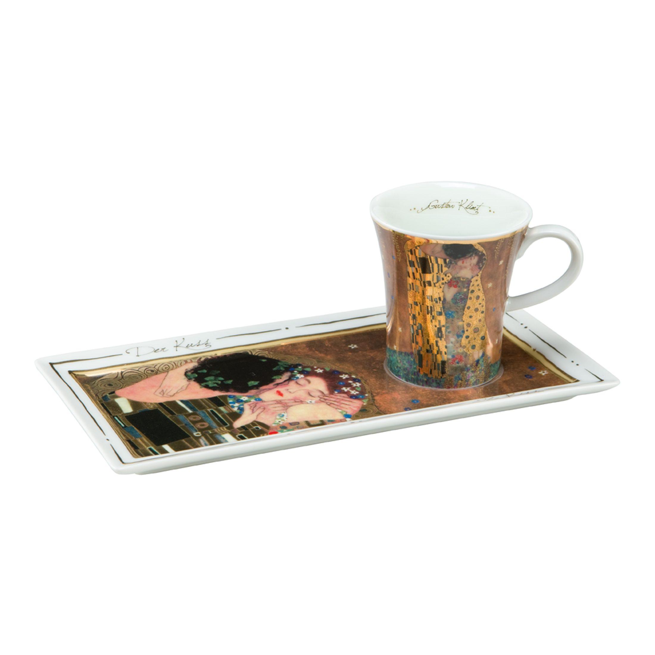 Goebel Der Kuss - Espresso Set »Artis Orbis«