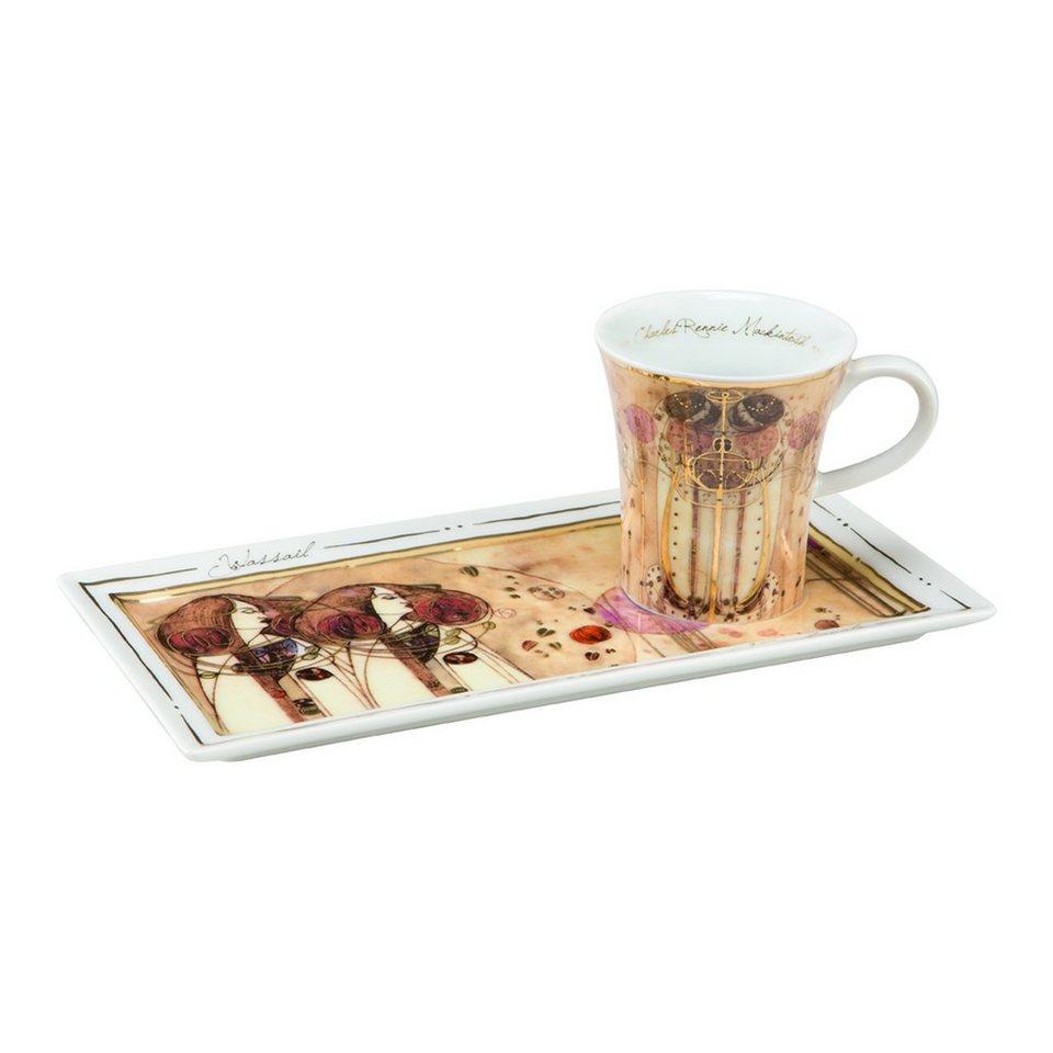 Goebel Die Zusammenkunft - Espresso Set »Artis Orbis« in Bunt
