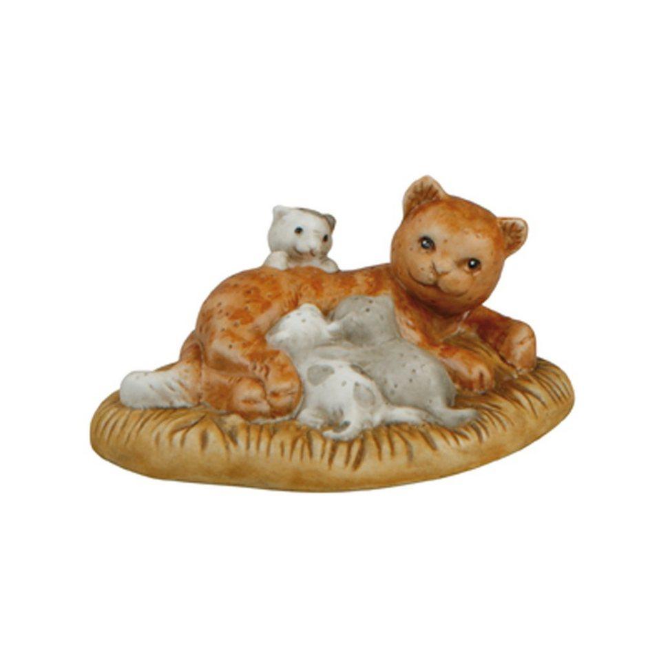 Goebel Fürsorgliche Katzenmama »Nina & Marco« in Bunt