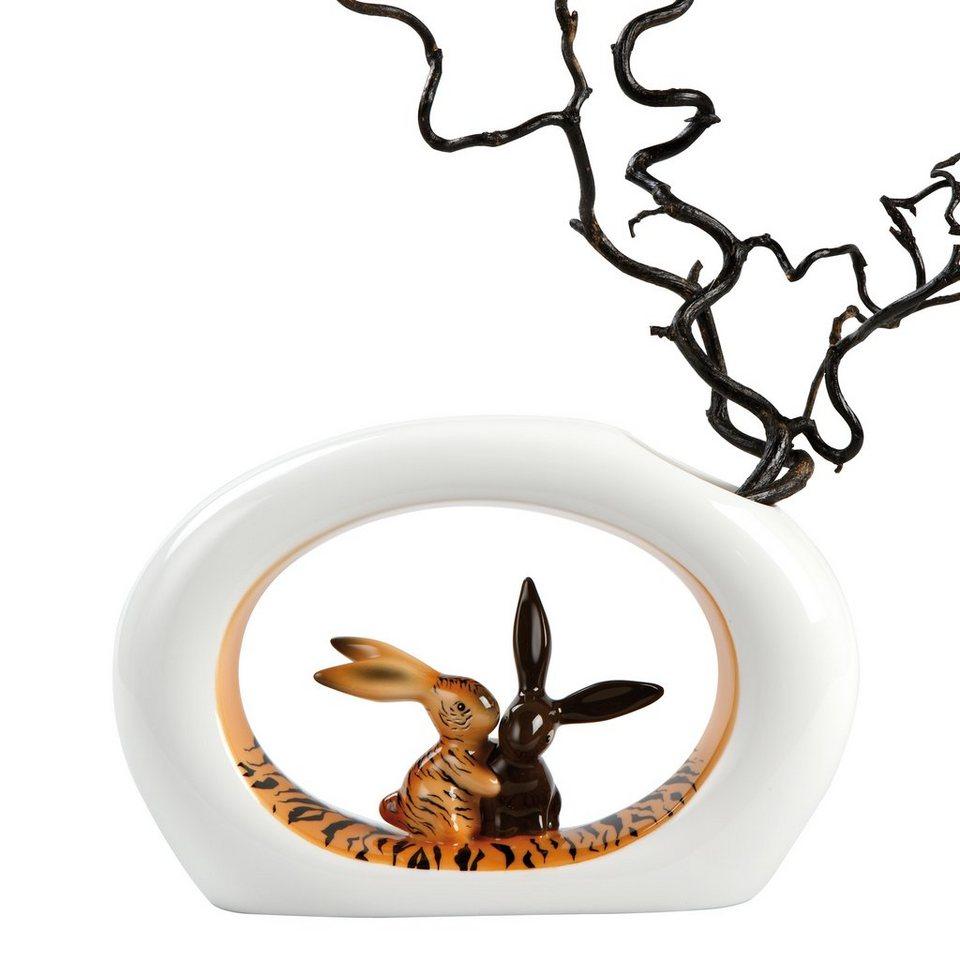 Goebel Tiger Bunny - Vase »Bunny de luxe« in Bunt